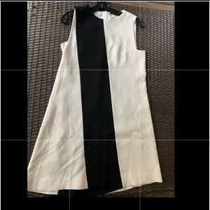 Narcisco Rodriguez black and white cocktail dress